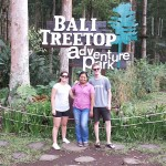 Lean nad David at Tree top - Mari Bali Toursp
