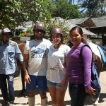 Claudin and husband from Lebanon - Mari Bali Tours