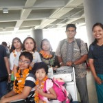 Family group from Myanmar - Mari Bali Tours