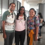 Welcoming Ms. Malini and husband at airport - Mari Bali Tours