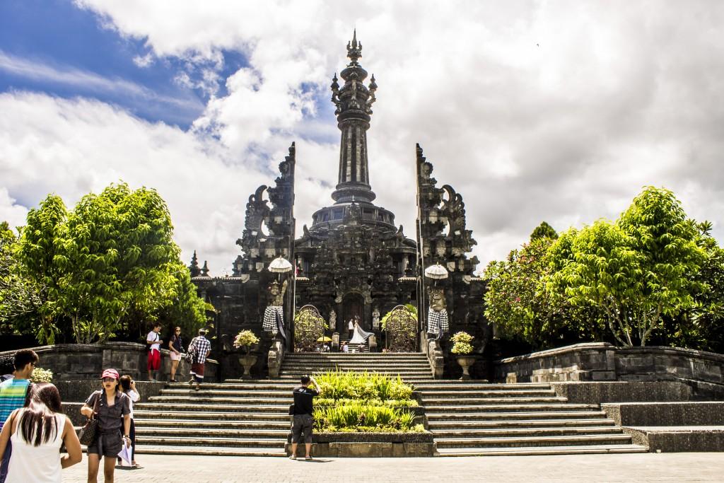 Bajra Sandhi - Bali people Independent monument in Denpasar center - Mari Bali Tours
