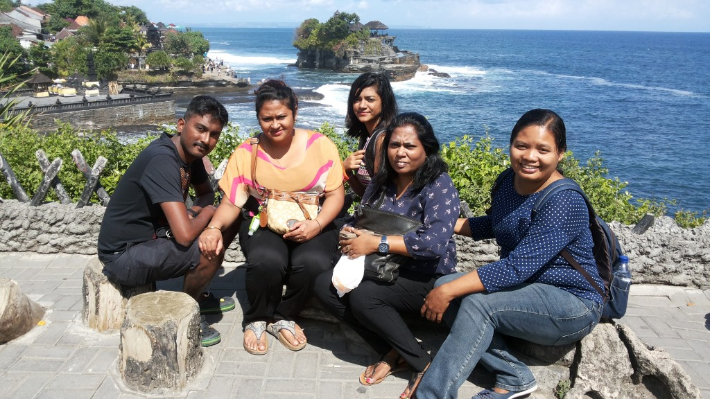 Happy moment in Bali with new Family from Singapore - Mari Bali Tours