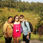 Having a wonderful tour with Ms. Eva and Dennis - Mari Bali Tours (2)