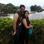 Honeymoon couple from India - Mari Bali tours