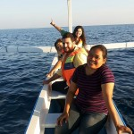 Rita and family on Dolphin tour - Mari Bali Tours