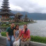 Mr. Tandar khaing Couple from Myanmar - Mari bali Tours
