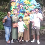 ms. Suzan and family from Saudi arabia - Mari Bali Tours