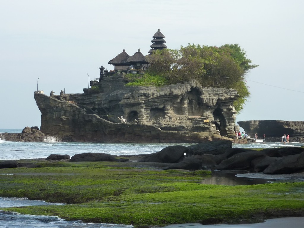 Tanah Lot Temple at beautiful stunning looks in Beraban village, Bali Island - Mari Bali Tours (117)