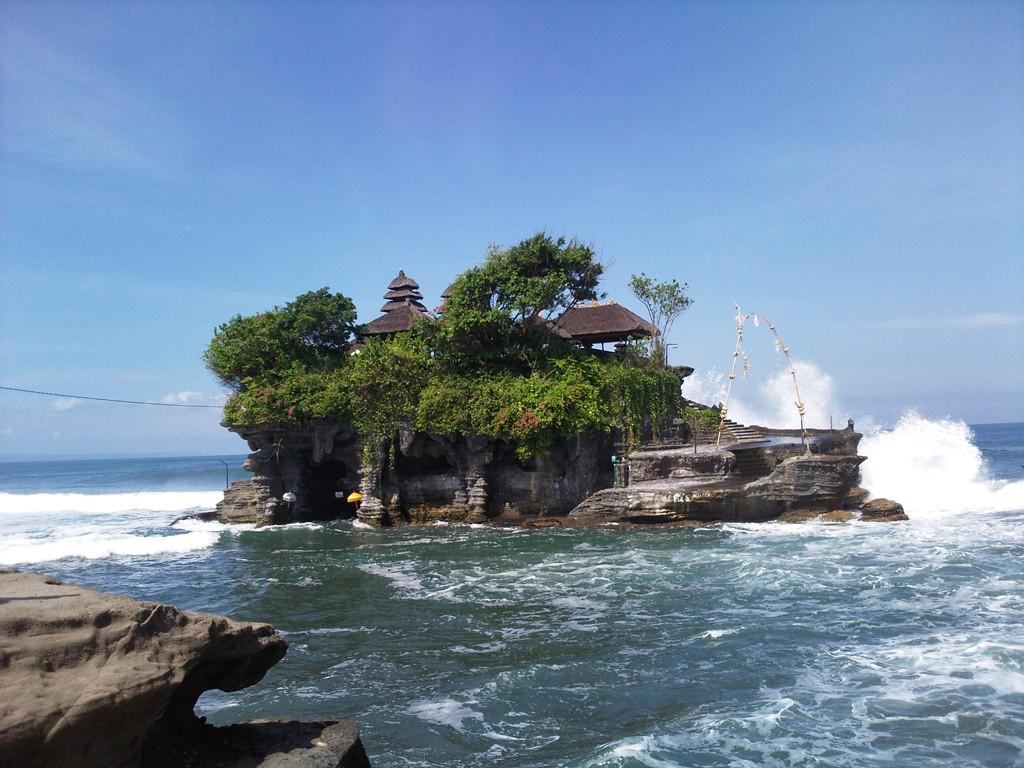 Tanah Lot Temple at beautiful stunning looks in Beraban village, Bali Island - Mari Bali Tours