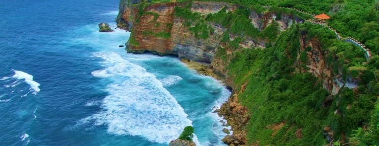 Uluwatu Temple with beautiful  cliff & ocean view - Mari Bali Tours