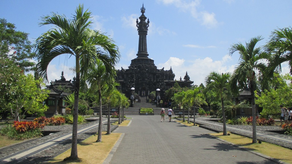 Bajra Sandhi - Bali people Independent monument in Denpasar center - Mari Bali Tours