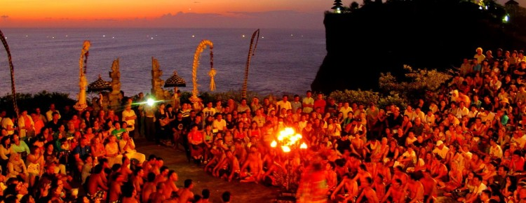 Kecak & Fire dance at Uluwatu Temple with stunning Sunset view, Bali Island  - Mari Bali Tours