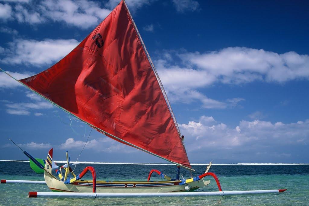 Sanur Beach in the east of Denpasar, Bali - Mari Bali Tours