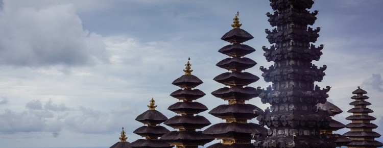 Besakih (Mother temple) at stunnung look in Karangasem regency, Bali - Mari Bali Tours