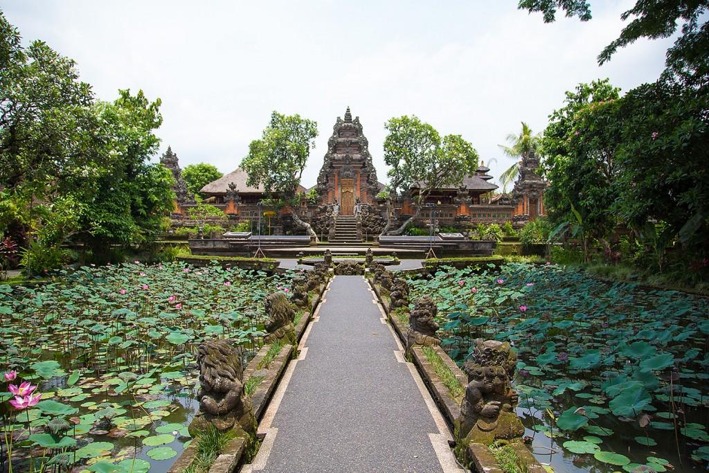 Saraswati temple in Ubud, Bali - Indonesia - Mari Bali Tours