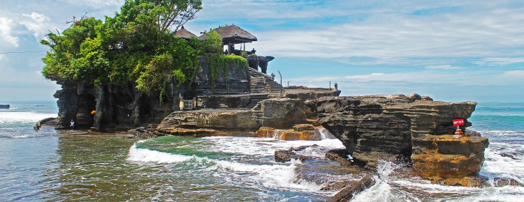 The wonderful Pura Tanah Lot at beautiful stunning looks in Beraban village,Tabanan regency, Bali island - Bali Hello Travel