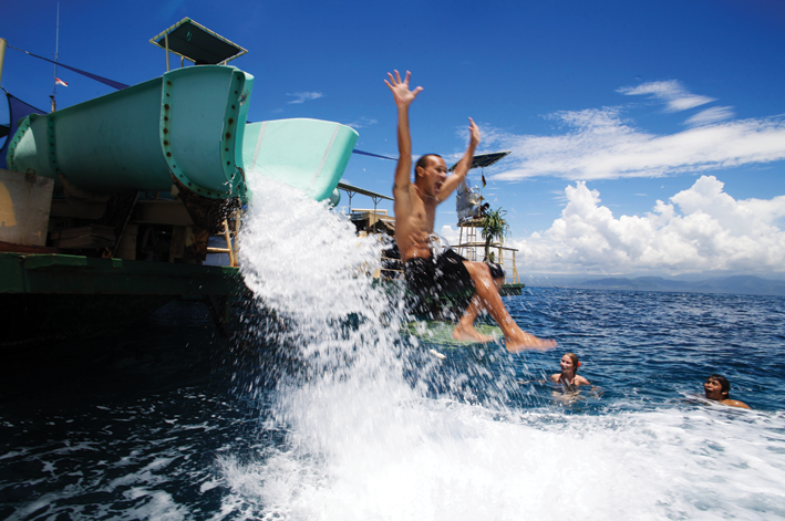 Bali Hai Reef cruise activity in Bali - Mari Bali Tours