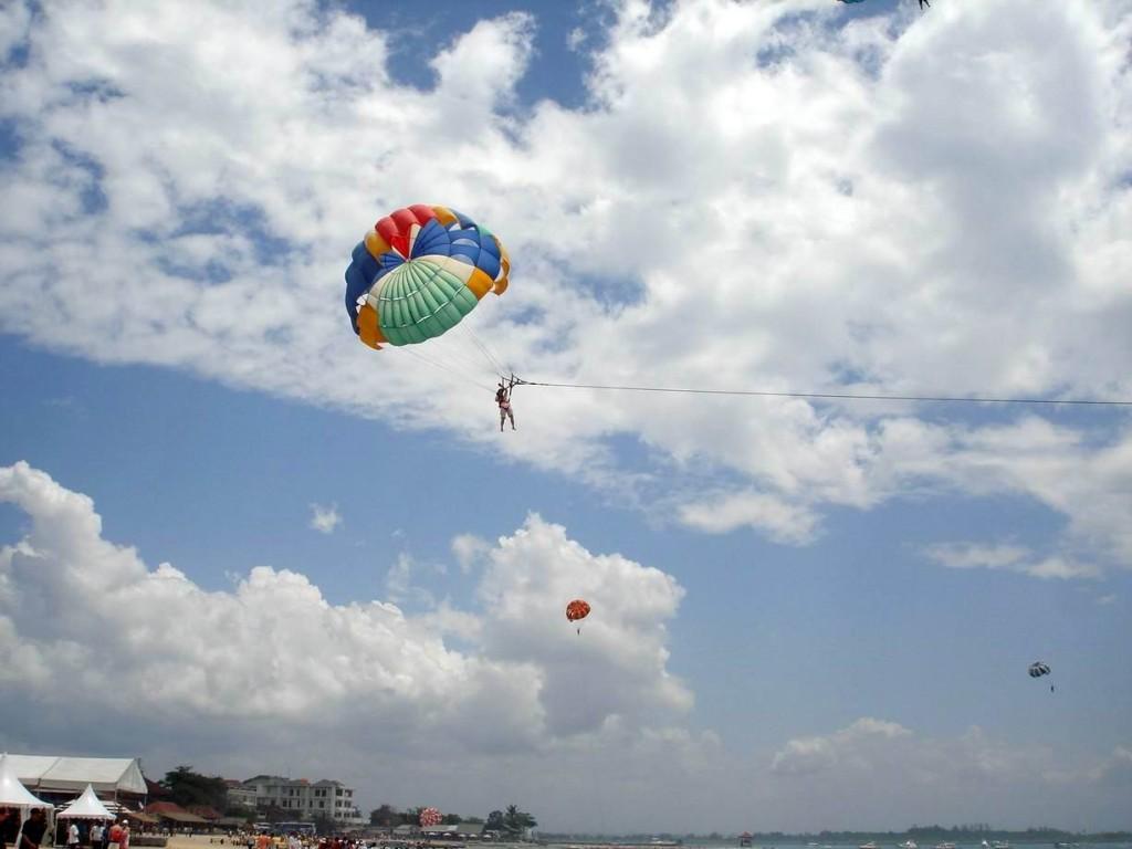 Parasailing at Tanjung Benoa - Mari Bali Tours (4)