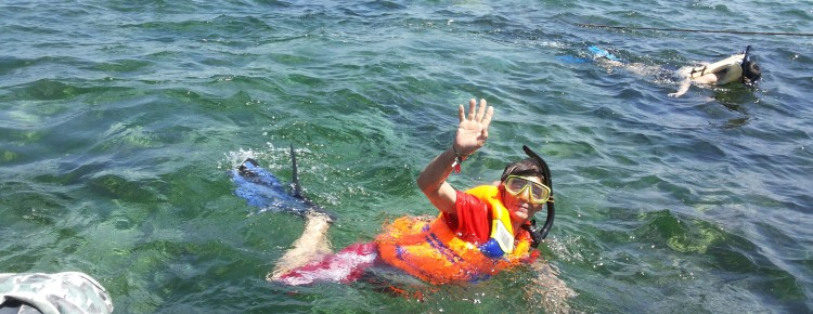 Snorkeling activity  at Tanjung Benoa beach - Mari Bali Tours (3)