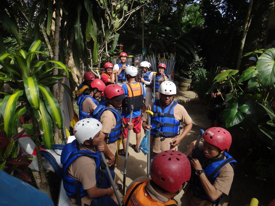 Water rafting at Ayung River, Ubud - Mari Bali Tours