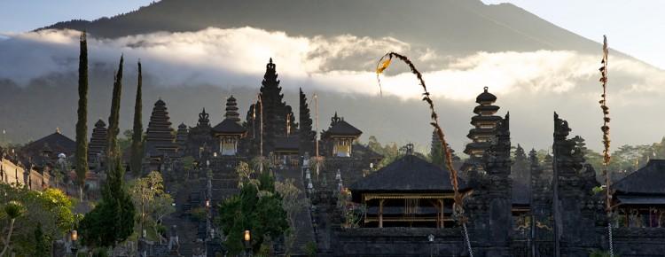 Besakih (Mother temple) at stunnung look in Karangasem regency, Bali - Mari Bali Tours