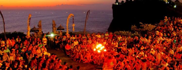 Kecak & Fire dance at Uluwatu Temple with stunning Sunset view, Bali Island  - Mari Bali Tours
